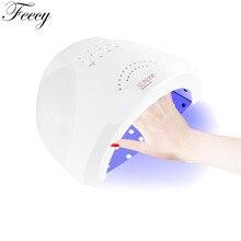 Лампа для гель-лака для ногтей Sun One Ice лампа для ногтей 48 Вт SUN UV Secador De Unas лампа для ногтей UV светодио дный LED Сушилка для ногтей Ice лампа Feecy