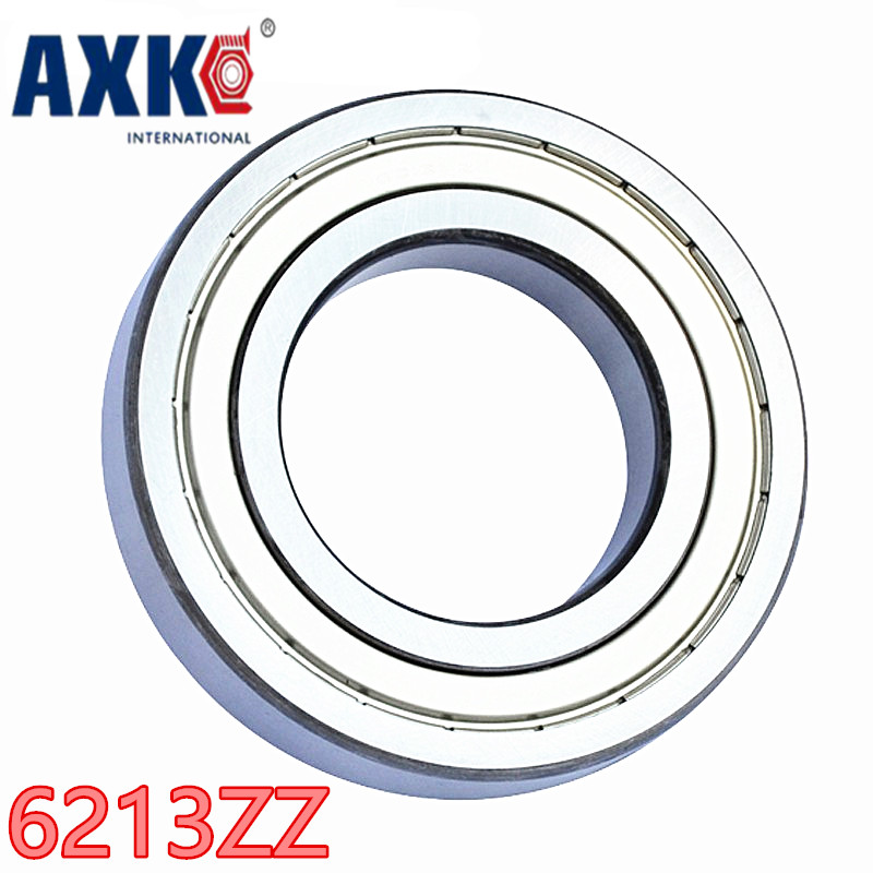 1pcs bearing  6213ZZ 6213-2RS  65x120x23 AXK Shielded Deep groove ball bearings Single row High Quality bearings single row 8mm x 16mm x 5mm deep groove ball bearing for electric hammer 26