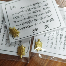 Cute Small ornaments Money Turtle Shallow Water Pond Jewelry Temple Lucky Gold Goods House decoration Trinkets