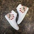2017 Primavera Outono Novos Estilos de Marca Ao Ar Livre Sapatos de Pista de Alta Qualidade Mulheres Sapatos de Couro Genuíno Sapatos Casuais