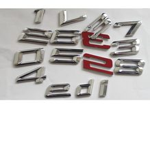 Chrome Số Letters Trunk Badge Emblem Emblems Badges cho BMW 1 2 3 4 5 6 7 Series X1 X3 X4 X5 X6 GT Z4 Xdrive(China)