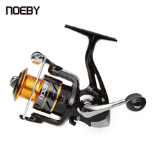 NOEBY Spinning Fishing Reel  5.5:1 2000/3000/4000/5000 5+1BB Aluminium Alloy Spool Max Drag 2-3kg Carp Fishing Reel TRP Handle new ryobi accurist 2000 3000 4000 fishing spinning reel 4 1bb 3kg 5kg max drag reels fishing wheels metal spool saltwater
