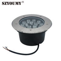 SZYOUMY 15W LED RGB Paving Sidewalk Underground Garden Landscape Lights With Remote Controller Color Changing DHL Fast Delivery