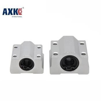 цена на AXK SC8UU SC10UU SC12UU SC16UU Slide Unit Block Bearing Steel Linear Motion Ball Bearing Slide Bushing Shaft Router 3D Printer