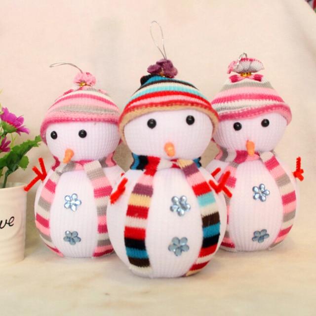 Boże narodzenie bałwan Wisiorek boże narodzenie prezenty lalki christmas bałwany winter cieplej