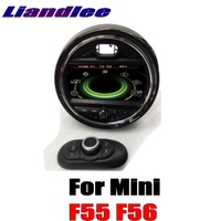 For Mini One Cooper Hatch F55 F56 2014 2018 Liandlee Car Multimedia Player With IDrive Button