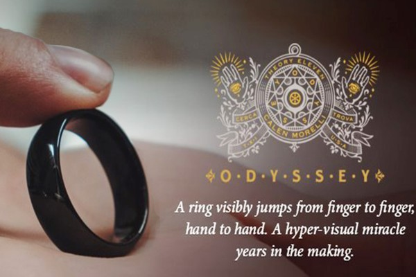 Odyssey Ring By Calen Morelli Close Up Magic Tricks Jumping Ring Close Up Street Magic Illusions Gimmick Mentalism Props