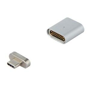 Image 1 - Nuovo 20 PIN di Tipo C Adattatore Per Macbook Pro MateBook Magnetica di Ricarica Veloce TYPE C Porta Del Computer Portatile Magnete USB C Cavo Dati adattatore