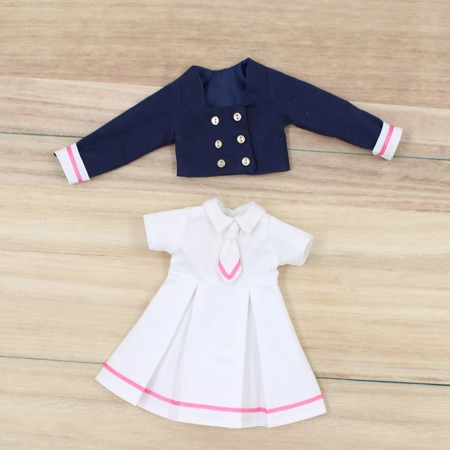 Neo Blythe Doll School Uniform Dress