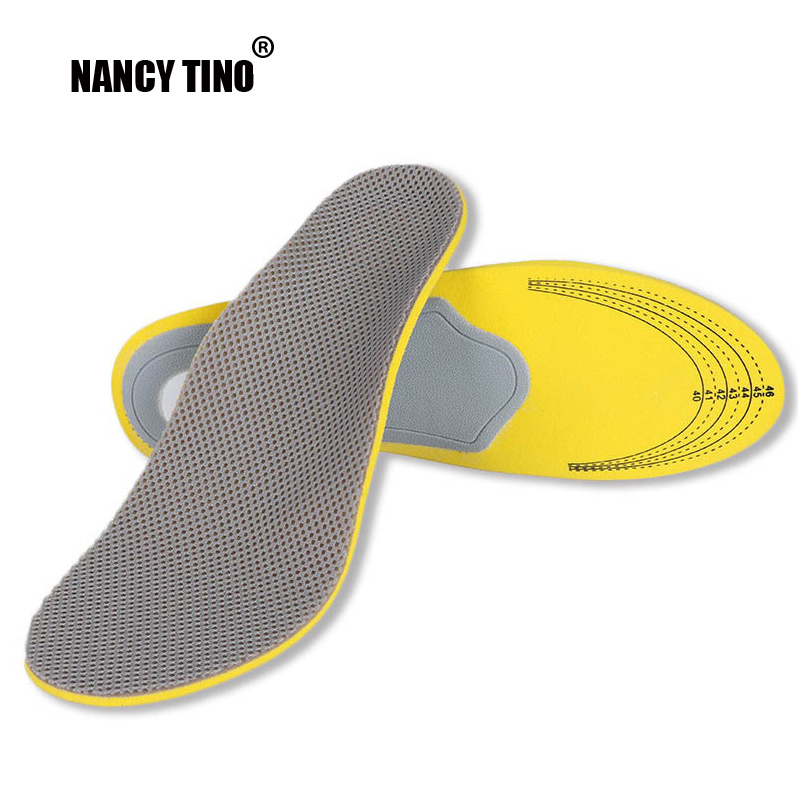 NANCY TINO 3D Orthotics Flat Foot Insole Unisex Orthopedic Insoles For Shoes insert Arch Support Pad Plantar Fasciitis