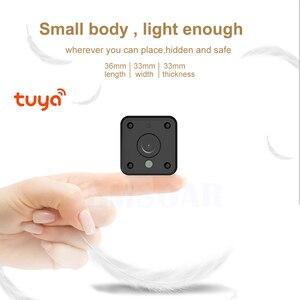 Image 2 - אבטחת IP מצלמה 1080P סוללה כוח 140 תואר ראיית לילה אודיו Reording 2MP אלחוטי Wifi מיני מצלמה Tuya חכם חיים