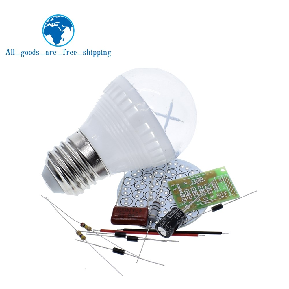 Active Components Realistic Tzt Ac 85v-277v Mini Energy-saving 2.4w 38 Led Lamps Diy Kit For Camping Out In The Wild Bbq Integrated Circuits Do Not Include The Led High Quality