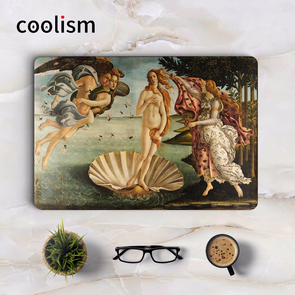The Birth of Venus Art Laptop Sticker for Macbook Air 13 Skin Decal Air Pro Retina 11 12 15.6 inch Notebook Mac Full Cover Skin