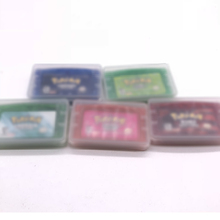 עבור GBA משחק מחסנית כרטיס לתקוע mon משחק כרטיס Firered/Leafgreen/אמרלד/רובי/ספיר גרסה עבור gameboy Advance