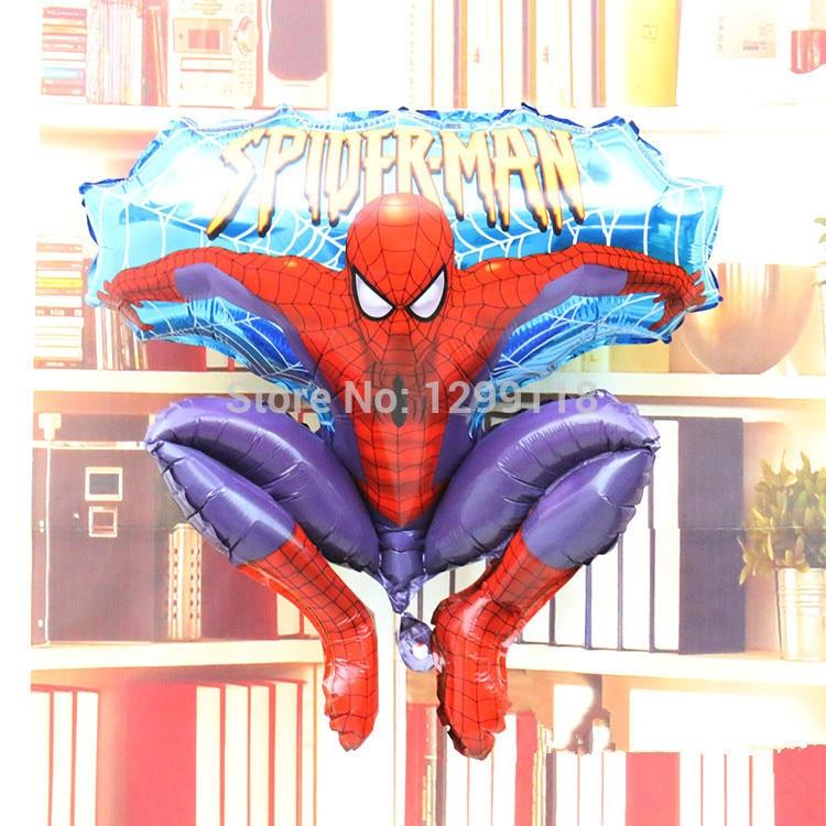 016 Spiderman personnalisé anniversaire merci partie autocollants Sweet sac cône