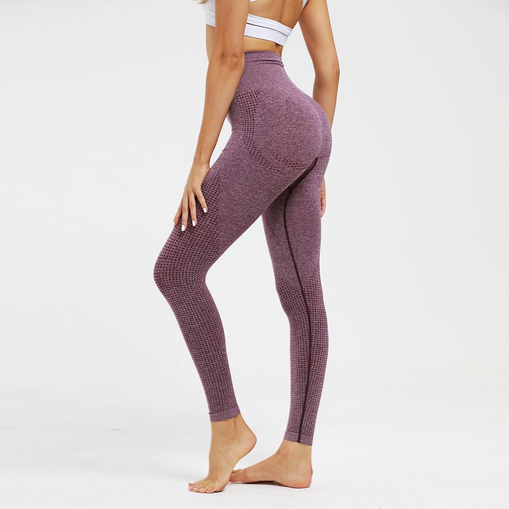 High Waist Push Up Women Leggings Seamless Super Elastic Fitness Pants Casual Workout Legging Breathable Leggins