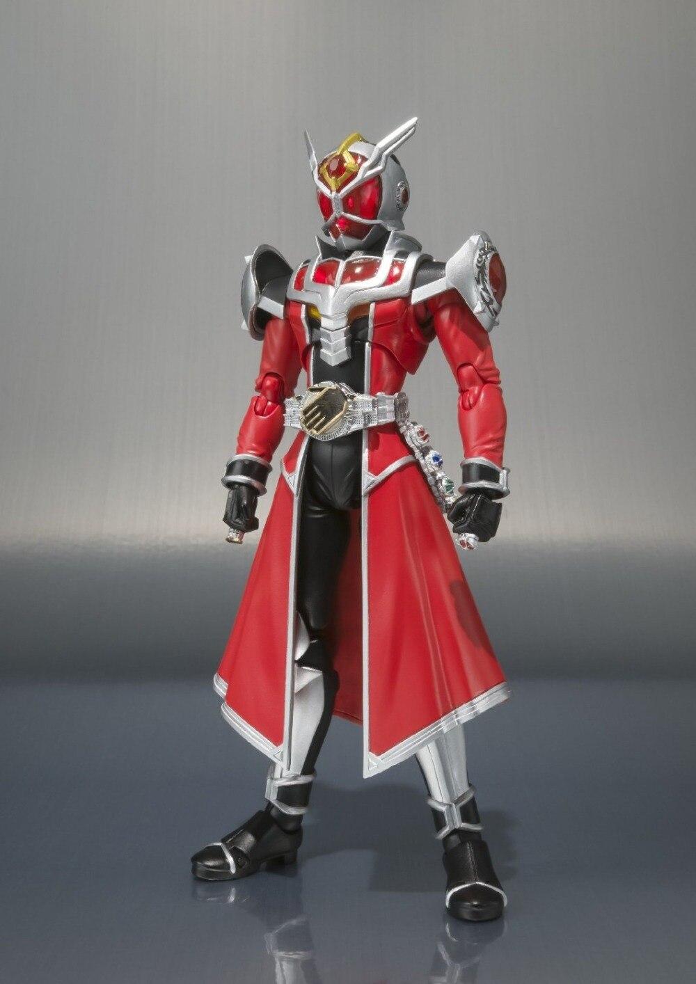 Japan Kamen Rider Wizard Original BANDAI Tamashii Nations SHF/ S.H.Figuarts Toy Action Figure - Flame Dragon