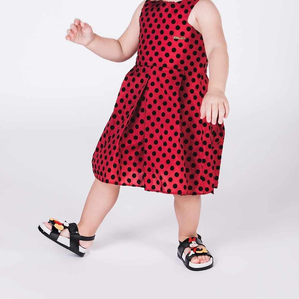 Mini Melissa Cosmic sandał Mickey Twins 2019 oryginalna dziewczyna żelowe sandały chłopięce sandały dziecięce dziecięce buty na plażę buty dla małego dziecka