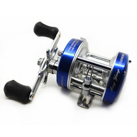 Weihai Factory Wholesale Mingyang CL Series Drum Fishing Gear All Metal Mine Strong Round Ice Fishing
