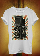 Retro Camera Photography Cool Hipster Men Women Unisex T Shirt Top Vest 452 New Shirts Funny Tops Tee