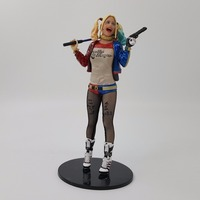 Suicide Squad Action Figure Joker Harley Quinn 170mm PVC Anime Movie Suicide Squad Harley Quinn Collectible