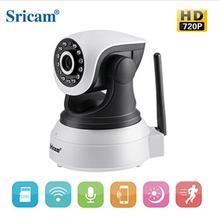 Cámara de visión nocturna ir-cut Original Sricam SP017 inalámbrica 720P P2P Monitor de bebé Audio WIFI CCTV Onvif cámara IP de seguridad interior