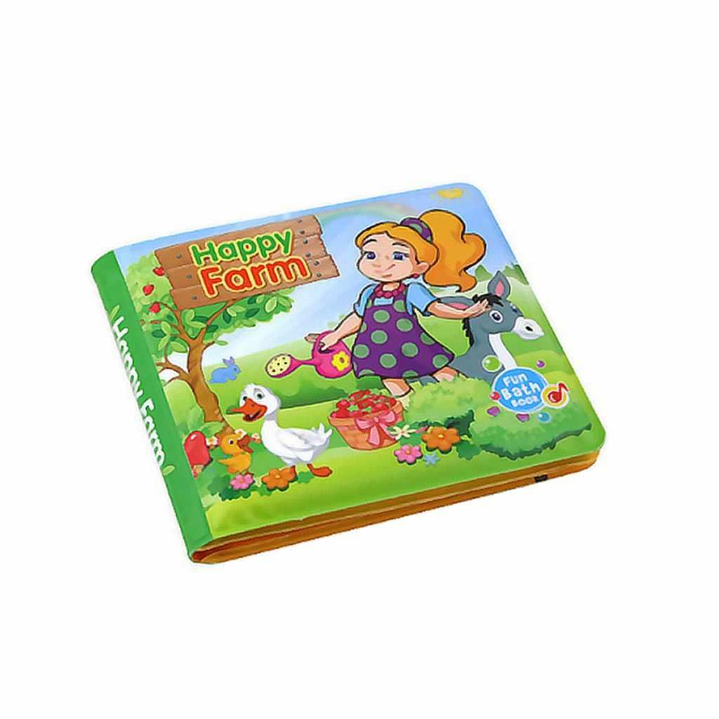 Для детей игрушки для младенцев детская тканевая книжка От 0 до 6 лет детская музыкальная книга английский Baby Shower Ванна мультфильм животных образования детей Подарки L326