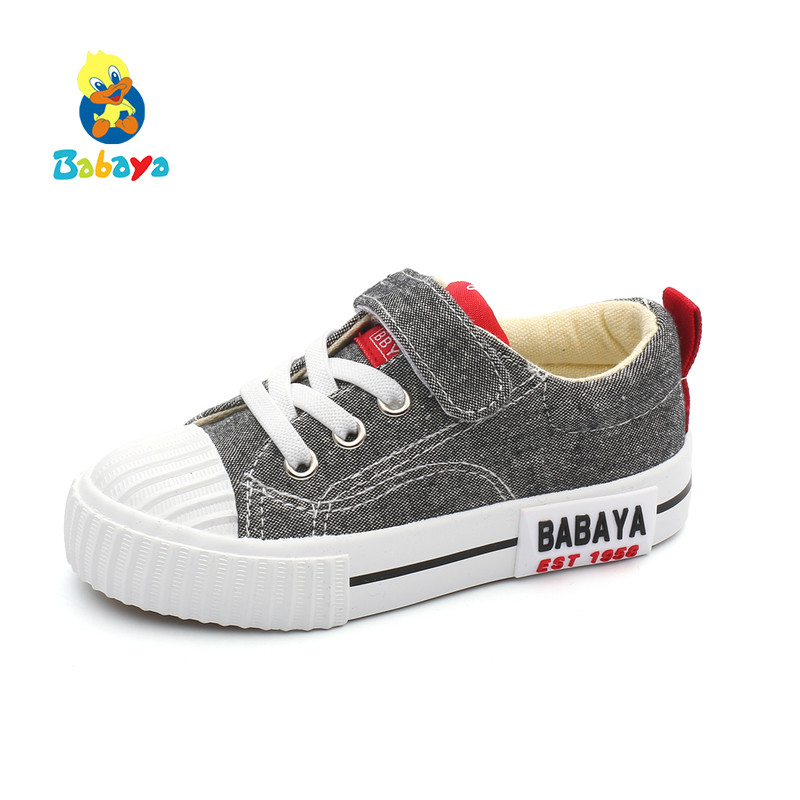 Babaya Children Canvas Shoes Boys Kids Version Of Girls Casual Shoes 2019 Spring New Shoes Fashion