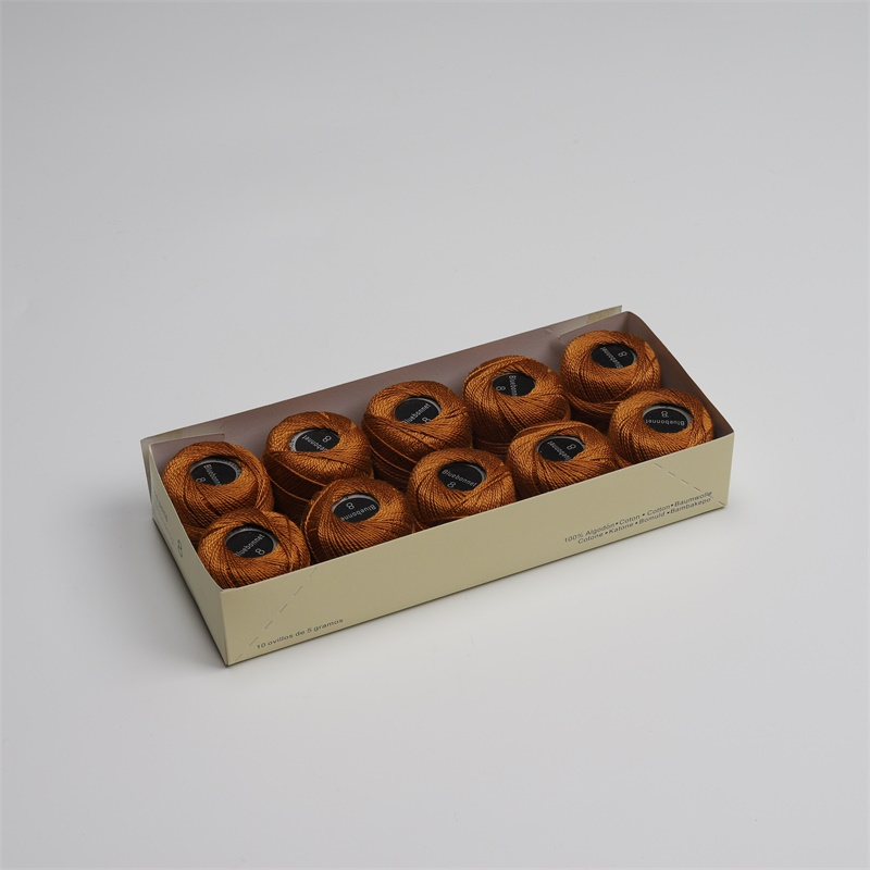 Размер 8 жемчужная хлопковая нить для вышивки крестиком 43 ярдов(5 грамм) на шарик Двойной Мерсеризованный длинный штапельный хлопок 10 шариков в цвет - Цвет: 994
