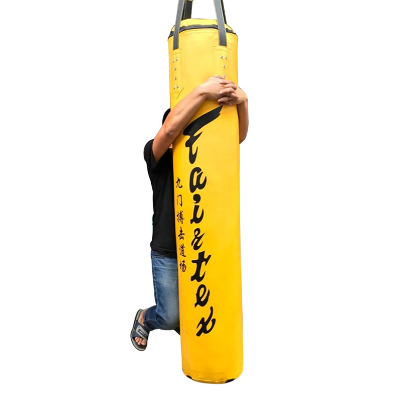 120cm-Training-Fitness--Boxing-Punching-Bag-Empty-Sport-Kick-Sandbag-Muay-Thai-Boxer-Training-Set (5)