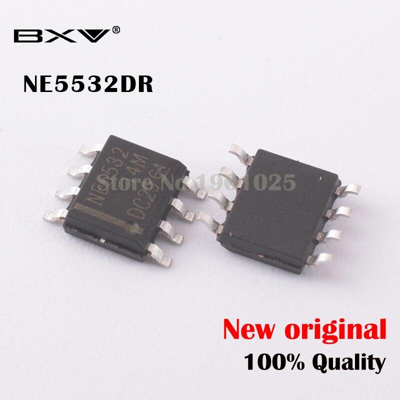100PCS N5532 NE5532 SOP-8 SMD Dual Low Noise Op-Amp TI IC