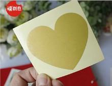 NEW Creative Cute Heart design Scratch coating Sticker/DIY Note sticker/Decoration label/Multifunction