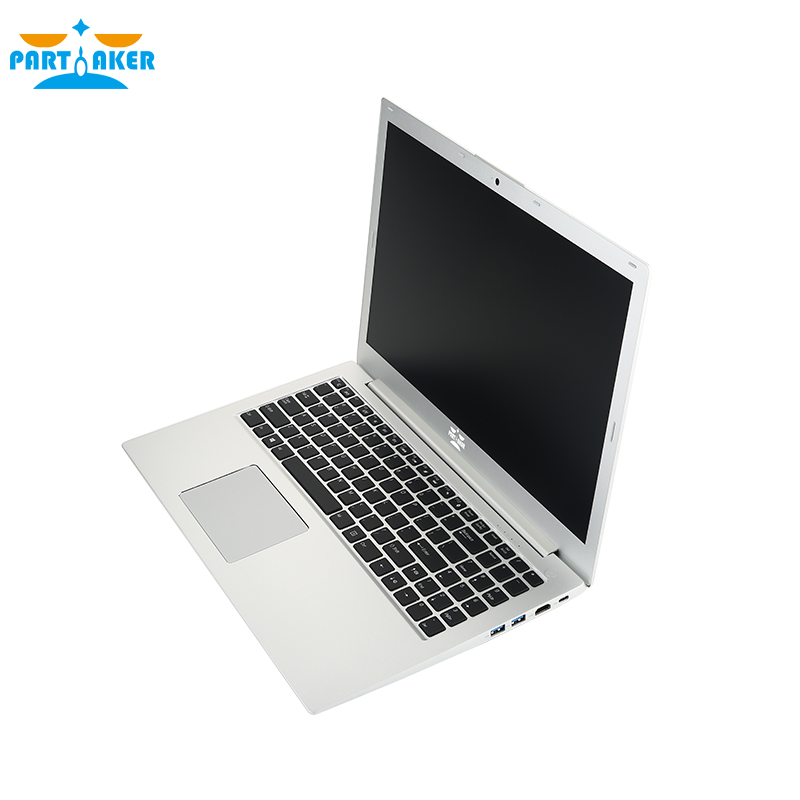 Купить с кэшбэком Partaker L3 Newest 15.6 Inch Laptop i5 8250U i7 8550U Quad Core UltraSlim Laptop Computer Backlit Keyboard with Bluetooth WiFi