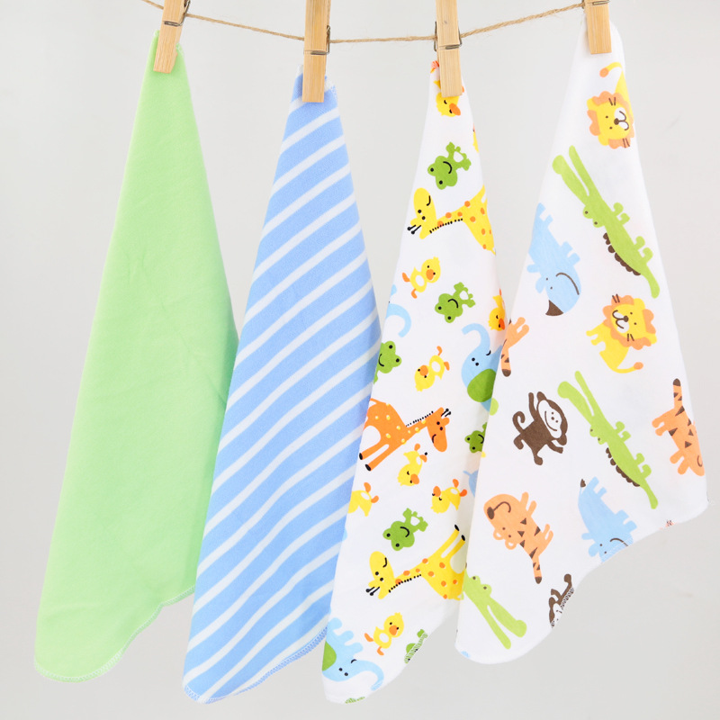4pcs/pack 100% Cotton Newborn Baby Towels Saliva Towel Nursing Towel Baby Boys Girls Bebe Toalha Washcloth Handkerchief KF5474pcs/pack 100% Cotton Newborn Baby Towels Saliva Towel Nursing Towel Baby Boys Girls Bebe Toalha Washcloth Handkerchief KF547