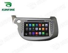 Quad Core1024 * 600 Android 5.1Car DVD GPS навигации playerfor honda НОВЫЙ FIT2009-2011 Радио 3gwifi руль пульт дистанционного управления