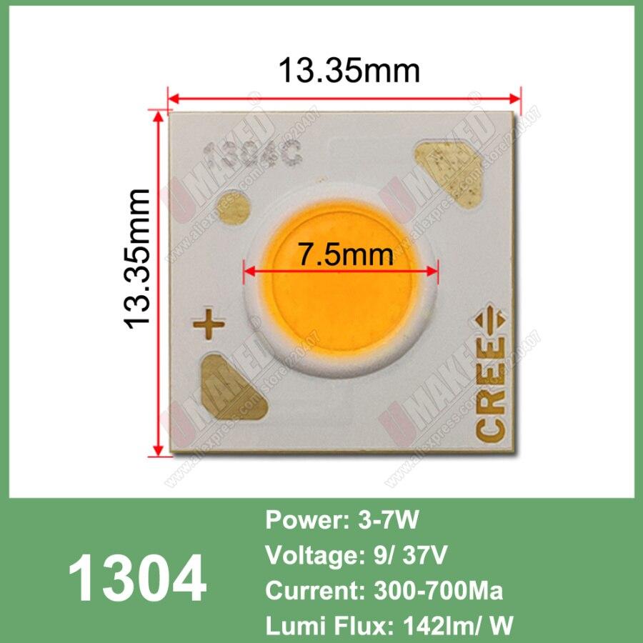 Image 3 - 10 قطعة Cree CXA الأصلي 10 واط CXA1304 15 واط CXA1507 24 واط CXA1512 65 واط CXA2530 الباردة/الدافئة الأبيض 5000 كيلو ، 3000 كيلو COB Led XLamp رقاقة ضوءحبات الإضاءة   -
