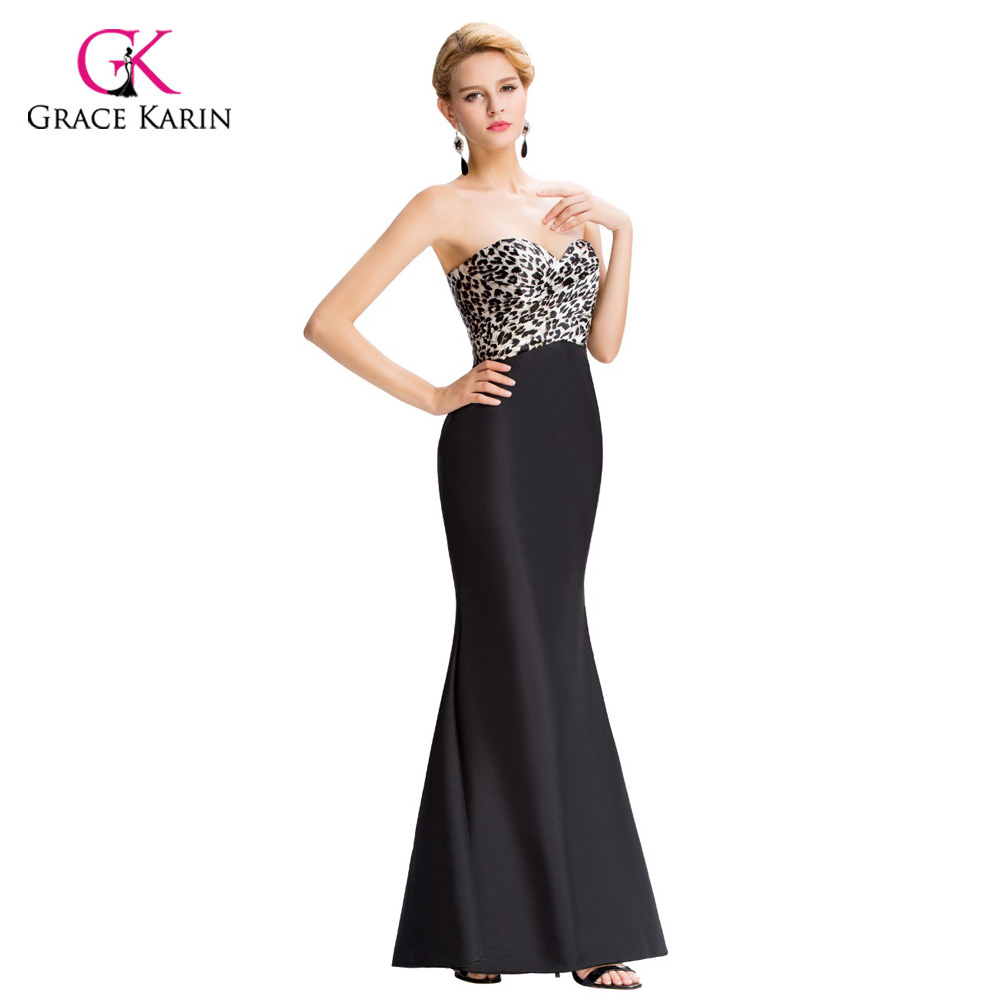 Cheap elegant long evening dresses 2017 grace karin sexy for Formal dresses for weddings cheap