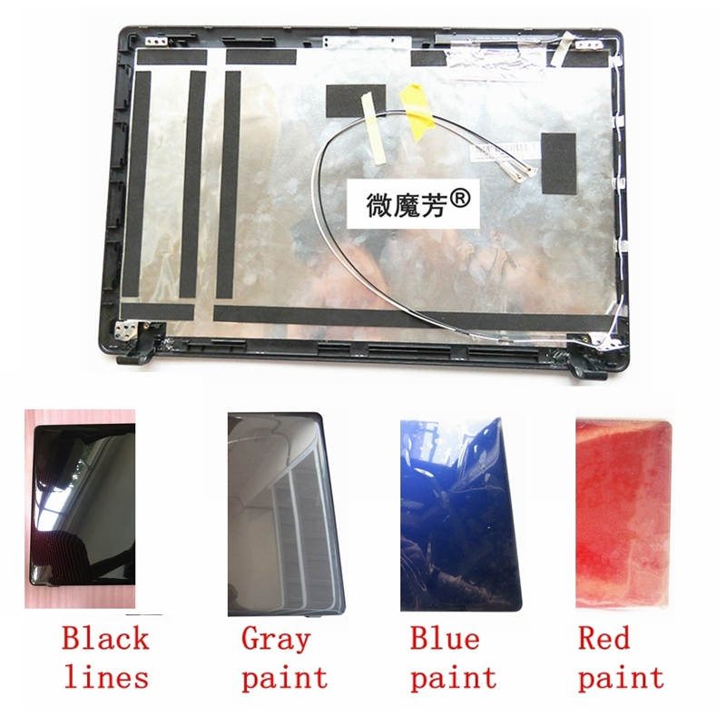 Laptop Top LCD Back Cover For ASUS X550 X550C X550VC X550V A550 Y581C Y581L K550V R510V F550V New A Case Four colors shell new br laptop keyboard for asus x550 k550v x550c x550vc a550l y581c f550 r510l x550j x550v brazil shell palmrest cover