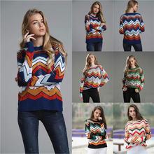 Женский свитер Новинка осени 2021 для поездок пуловер с круглым