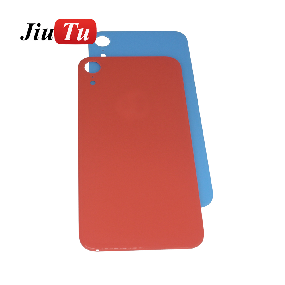 New Back Glass Replacement For iPhone 8 8G 8Plus 8P 8 Plus  X Battery Cover Rear Door Housing+ Adhesive Sticker jiutu (3)