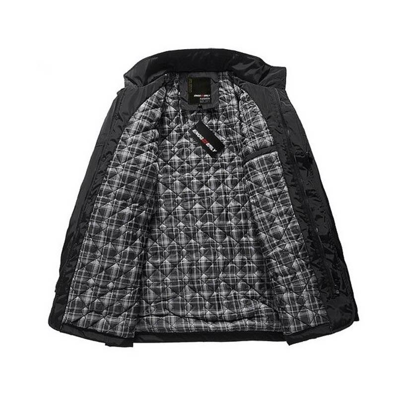 Χειμερινό σακάκι ζεστό ζεστό άνδρες - Ανδρικός ρουχισμός - Φωτογραφία 6