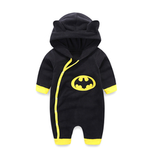 Newborn Baby Clothes Warm Baby Rompers Long Sleeve Baby Boy Clothing Autumn Winter Baby Boy Jumpsuit Roupas Bebes Infant Costume 2017 quality jumpsuit print baby rompers warm autumn winter boy girl newborn children clothes kids baby clothing suit set