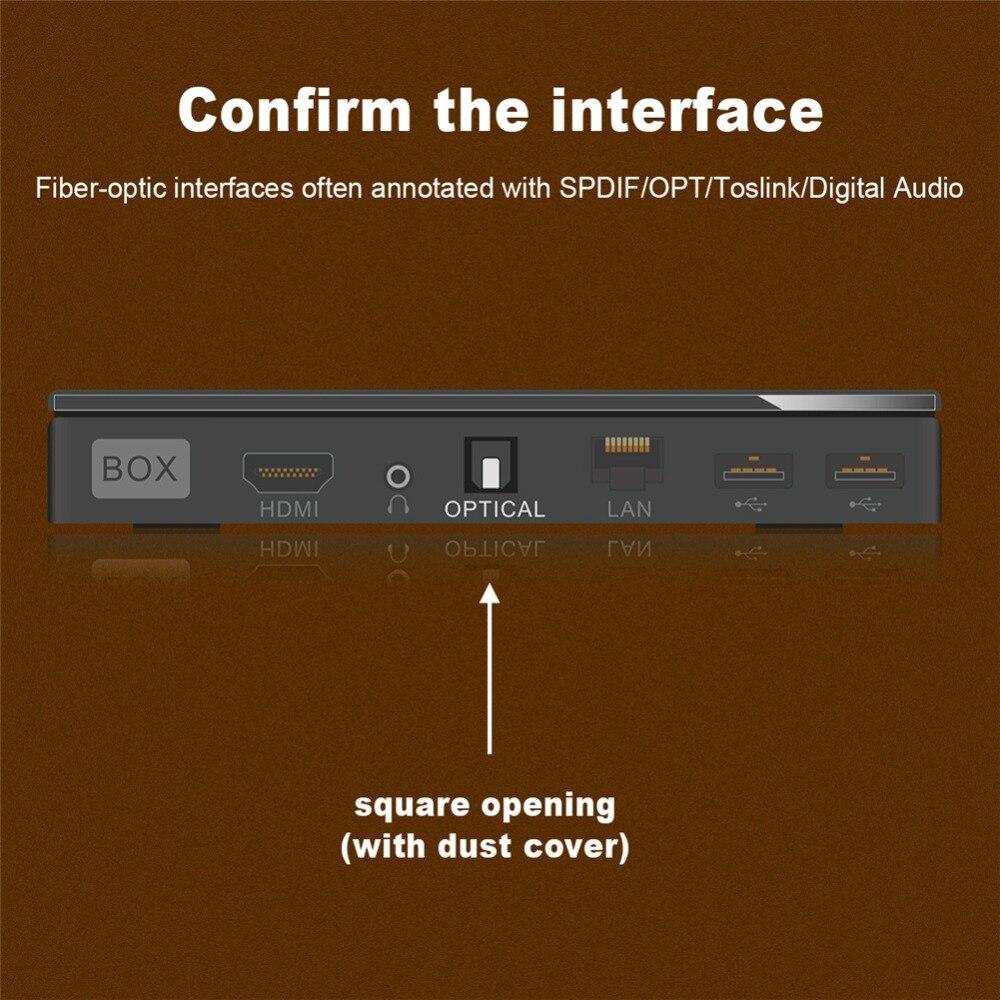 EMK Carbon fiber shell fiber optical digital SPDIF toslink audio cable OD8 0