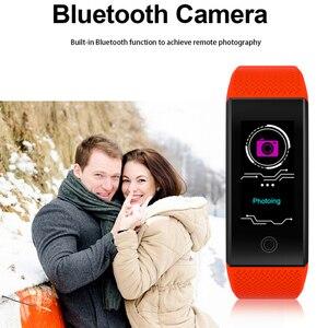 Image 3 - Akıllı bilezik IP68 su geçirmez Smartband nabız uyku monitör spor pasometre Fitness Tracker Bluetooth Smartwatch Relogio