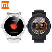 Xiaomi Ticwatch E Bluetooth 4.1 Smart Watch WIFI Waterproof Fitness Heart Rate Tracker 24 hour Instruction Message Reminder Call