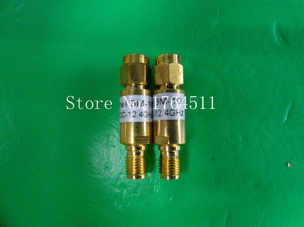 [BELLA] WEINSCHEL 3M-10 DC-12.4GHz 10dB 2W SMA Coaxial Fixed Attenuator  --3PCS/LOT