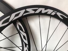 ФОТО carbon road bike wheels 50mm clincher 60mm wheelset powerway hub spokes basalt brake surface carbon road bicycle bike 38m wheels