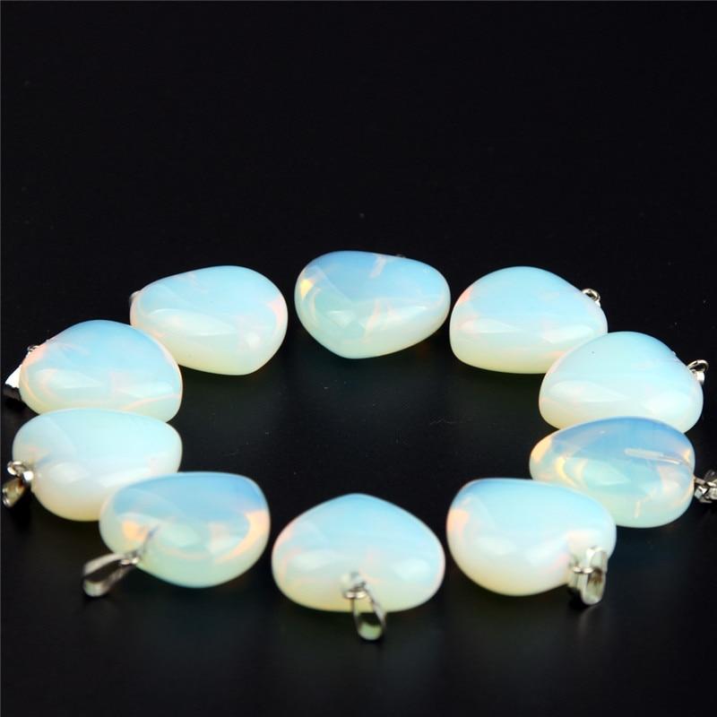 10pc Φυσική πέτρα Αμέθυστος Καρδιά - Κοσμήματα - Φωτογραφία 5