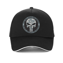 GOD WILL JUDGE OUR ENEMIES WE ARRANGE THE MEETING letter Baseball Cap High Quality Punisher hat Unisex Snapback hats