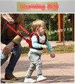 Малыш двойного назначения дышащий баскет-типа хлопка малыша обучения пояс безопасности анти-потерянный прогулки помощник пояс